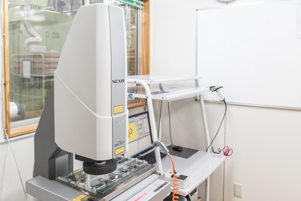 ニコン製高精度3次元測定器「NEXIV(ネクシブ)」