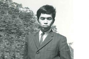 昭和40年創業当時の創業者 市村秀雄