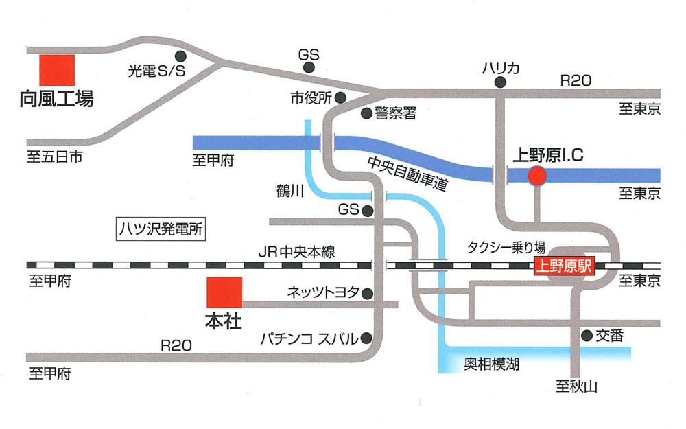 詳細地図:市村製作所へのアクセス方法